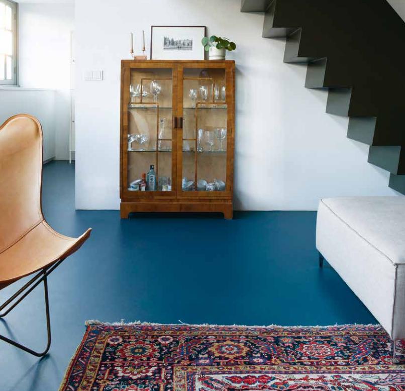 marmoleum-blauw